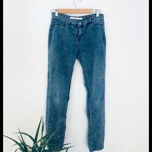 Zara Trafaluc Acid Wash Jegging Blue Size 6